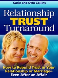 rebuild trust after an affair