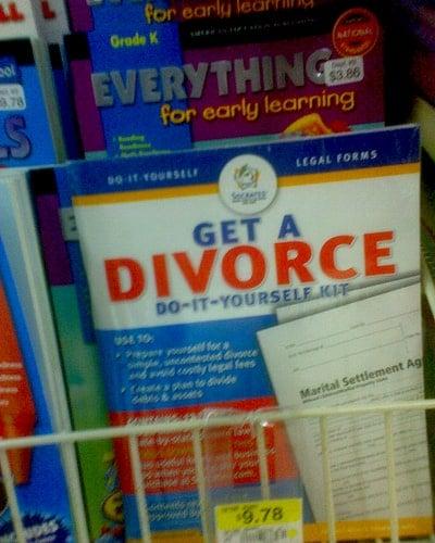 jealous of divorce