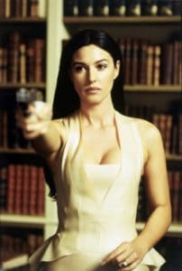 This Bond Girl was told by her husband that she was not enough for him and that she needed to turn a blind eye to his infidelity. (Scene from The Matrix.)